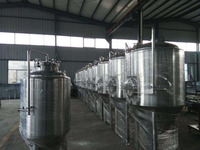 beer brewery equipment used for the brewpub, hotel and brewhouse