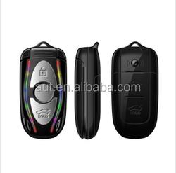 2015 GSM unlocking samll size flip mobile phone AU350 cell phone