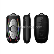 2015 GSM unlocking samll size flip mobile phone AU350 cell phone