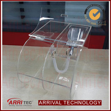 acrylic round clear candy dispenser plastic container for candy