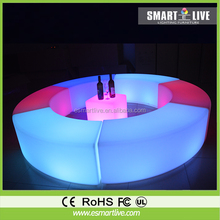 outdoor led moving chair&led cube chair/fashion light ful chair