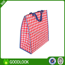 laminated pp woven reusable paper carrier bag