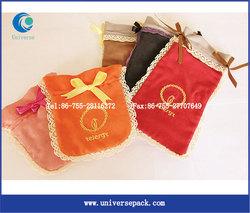 Custom Nice Design Velvet Pouches For Jewelry Bags Wholesale Bag Gift
