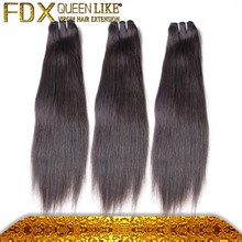 hot selling 100% unprocessed human hair brazillian straight hair