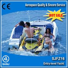 Sanj 1100cc 4-takt motor jetski solarboot verkauf kleinen jetski boot zum verkauf