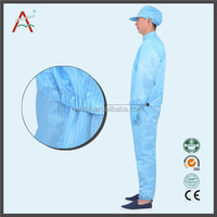 Clean Room Antistatic Clothes Esd Smocks Uniform