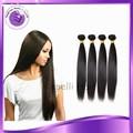 Venta al por mayor de cabello liso y sedoso 100% sin procesar cabello remy virgen humano brasilero extensiones de cabello 4 piezas/juego precio de fábrica 18 pulgadas