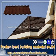 magnesium oxide roof tile/high quality stone coated metal asphalt roof shingles/stone coated metal versatile roof