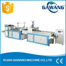 Full Automatic Single Layer Cold Cutting Hot Sealing T-shirt Bag Making Machine (GW-ZD Series)