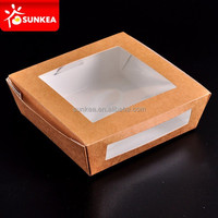 Sunkea disposable cake containers can produce with your logo