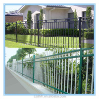 Galvanized steel fence with high quality and competitive price from Suzhou Dihang Defense Facilities Co., Ltd