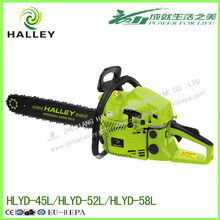 China supplier gasoline chain saw tree cutting machine price india