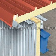 XIAONING insulated PU roof aluminum sandwich panel