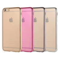 2015 New Products transparent PC cell phone case mobile phone case for iphone 6