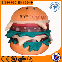 Advertising Giant Inflatable Burger For Sale