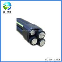 Aluminum conductor PVC sheath abc power cable