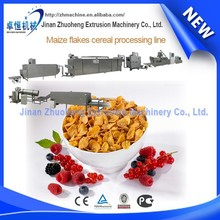 High output breakfast creal maize flakes production machinery