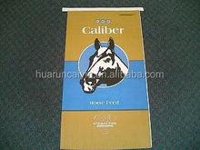 Accept custom polypropylene woven bags, horse feed bags