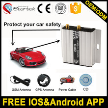 SMS cell phone tracker for cars with speeding alarm anti jammer