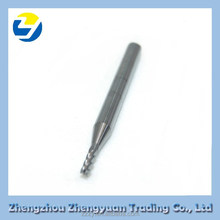 Tungsten carbide end mill cutting tools to process aluminium