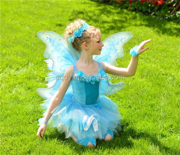 el ms popular fancy nios chica mariposa traje con alas de mariposa una pieza de