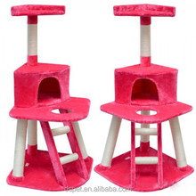 Dspet Wholesale Deluxe Cat Tree House Cat Scratching Tree Sisal Posts Condo Cat tree Tower Pet Play toy Bed Products