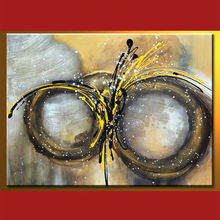 Wholesale Handmade Abstract Paintings With Circles