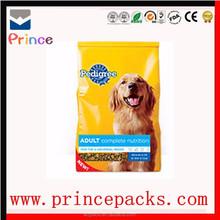 dog cat animal food packaging poly bag