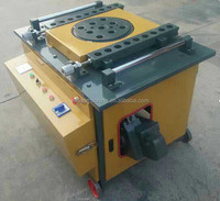 semi automatic machine rebar cutting and bending machine