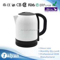 1.7L home appliance crazy selling food grade free electric kettles