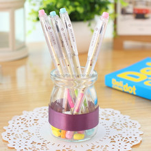 Hot selling wholesale student gel pen/ school stationery in bulk v1703