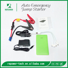 Multi-Function Mini Portable Car Jump Starter 12V Car Engine Emergency Battery Power Bank Fast Charge
