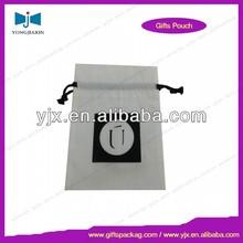 wholesale custom pen velvet bag drawstring