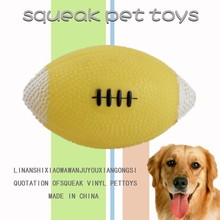 Pet play toys/dog vinyl toy ball/squeaky vinyl toy for dog,pet toy