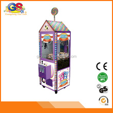 2015 newest chinese coin operated claw crane vending capsule plush toys for crane machines for sale