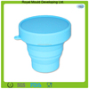 2014 Durable silicone collapsible measuring cup