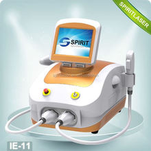 Good Quality 2 in 1 SHR and ND YAG laser machine Movable Screen aft shr hair removal fast working 10HZ