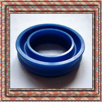 blue NBR rubber U-shaped seals custom all kinds of water resistancel U-ring rubber seal