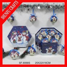 fashion christmas ornament balls for loss of a pet