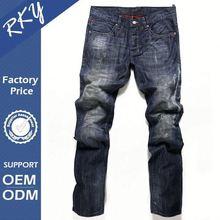 Hot vender promocional respirável mais recente marca de Jeans