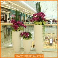 Customized Decorative Large Fiberglass Flower Vase