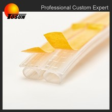 waterproof self adhesive rubber sealing strip, rubber extrusion with adhesive