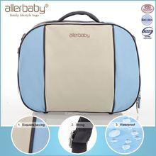 2015 Hot Sell Super Quality Original Brand Simple Design Ployester Shoulder Diaper Bag
