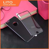 color tempered glass for mobile phone,color screen protector for iphone 4 4s 5 5s 6 plus