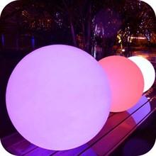 2014 Hot Battery waterproof christmas LED hanging plastic ball lights plastic sphere ball