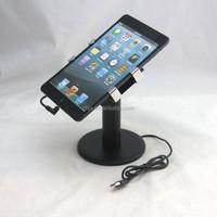 desktop mount 9 inch tablet pc stand with tablet retail alarm system bracket, tablet device