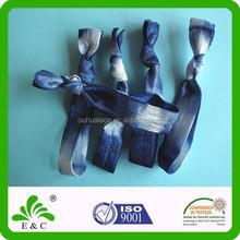 Tie Dye Dazzling Colors Nylon Spandex Elastic Hair Band Hair Bungee
