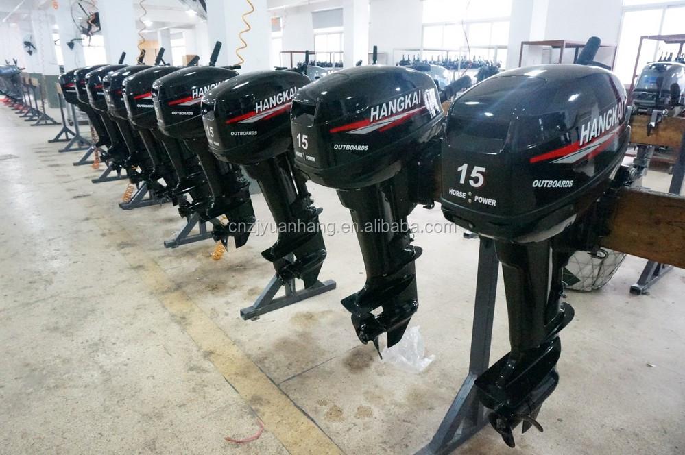 Best Price 2 Stroke 15hp Hangkai Marine Outboard Engine
