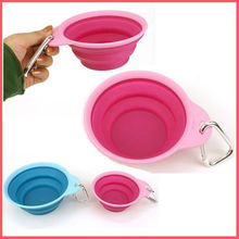 Various foldable silicone bowls for your pet SGS /FDA