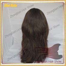 100% Virgin Mongolian Hair Mongolian Hair Topper Wig